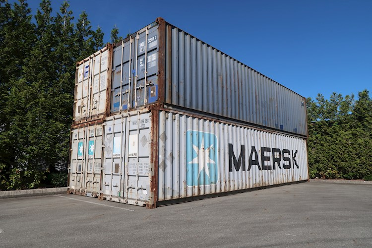 40' Standard Shipping Containers 40' - 40' Standard Shipping Containers Other Construction Equipment