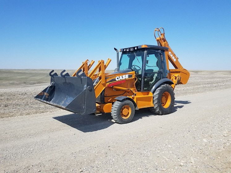 2010 CASE 580 Super M Series 3 - CASE Loader Backhoes