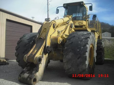 2001 Caterpillar 992G - Caterpillar Loaders
