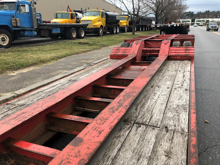 Challenger 60 Ton 3 Axle Dropside Trailer - Challenger Trailers
