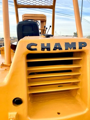 1979 Champion CB60A Gas Rough Terrain Pneumatic Forklift - Champion Forklifts