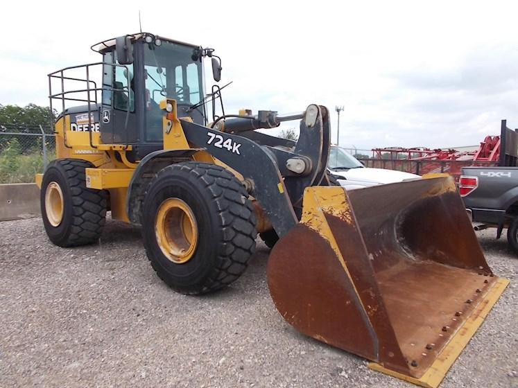 2014 DEERE 724k - DEERE Loaders