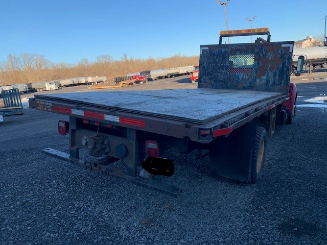 2001 Ford F650 Flatbed Truck 4x2 - Ford Cab Chassis Trucks