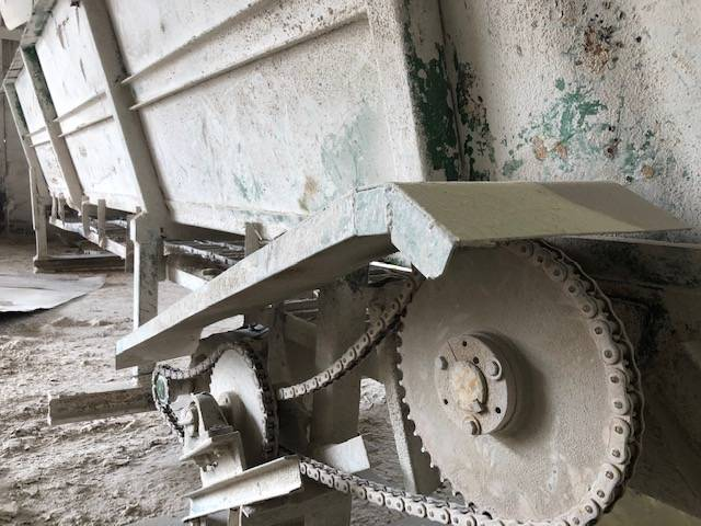 Foultz Chain Drag Infeed Hopper - Foultz Aggregate Equipment