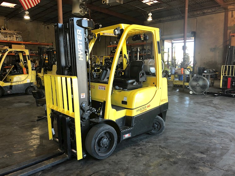 2020 Hyster 6,000lbs Capacity Cushion - Hyster Forklifts