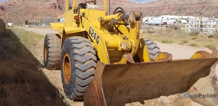 1997 John Deere 624G Wheel Loader w/6068T Diesel Engine (2627) - John Deere Loaders