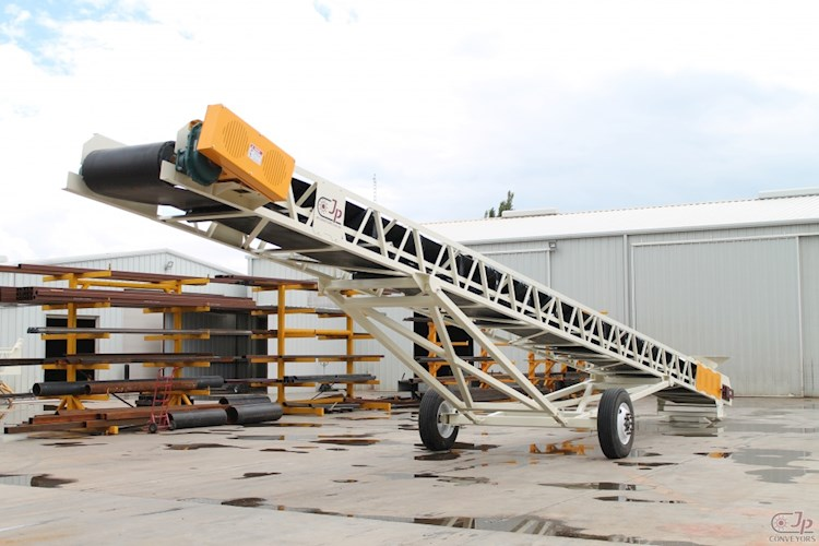 JP 36X60 RADIAL STACKING CONVEYOR - JP Aggregate Equipment