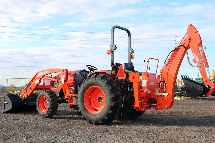 2020 KIOTI DK5010X-TLB 50HP Loader and Backhoe - KIOTI Tractors