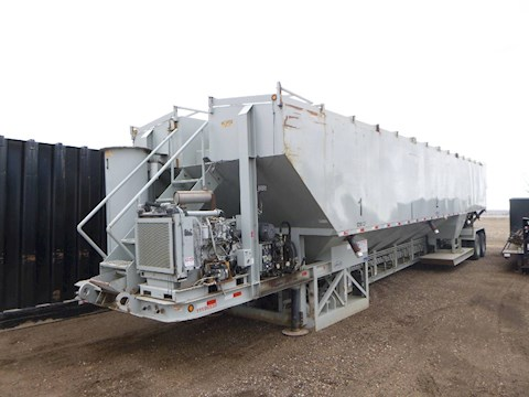 2008 Appco FS40 Sand King Frac Sand Silo w/Conveyor for Oil Field (2560) - Appco Trailers