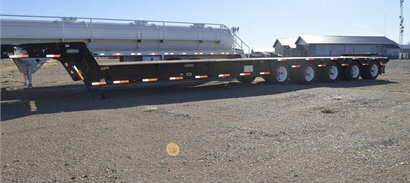 2019 Aspen 70 Ton 5 axle folding neck - Aspen Tow Trailers