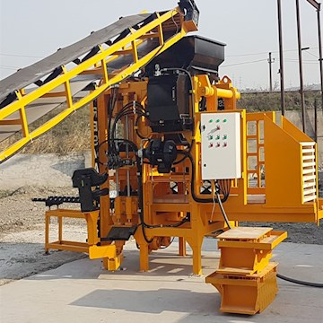 Bess Concrete Block Machine PRS400 - Bess Concrete Block Machine Concrete Mixers