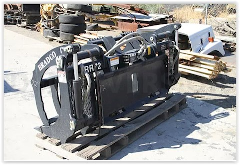 2014 Bradco Grapple Bucket - Bradco Attachments