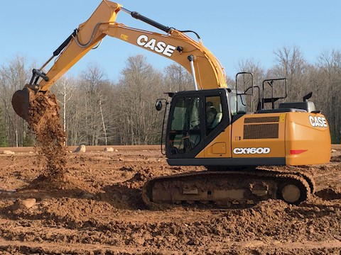 2013 CASE CX160C - CASE Excavators