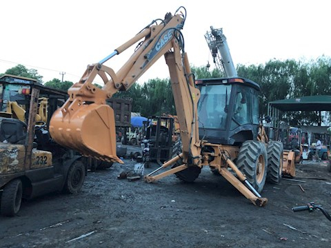 2004 CASE 695 - CASE Loader Backhoes