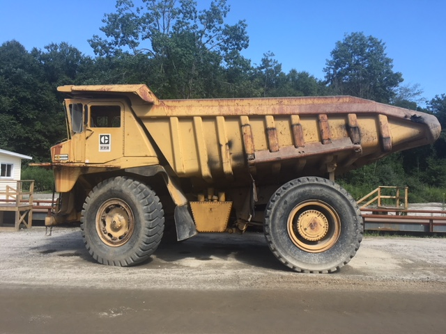 1980 Caterpillar 773 Off Road Truck - Caterpillar Dump Trucks