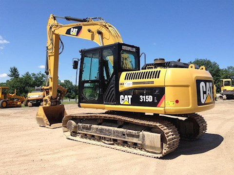 Caterpillar 315DL - Caterpillar Excavators
