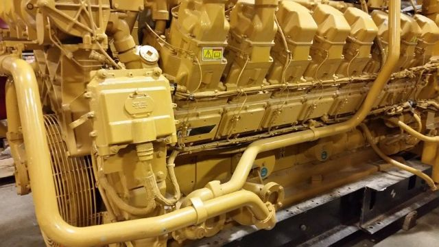 Caterpillar 3516 Landfill Gas Generator Set 925 KW New Surplus - Caterpillar Generators