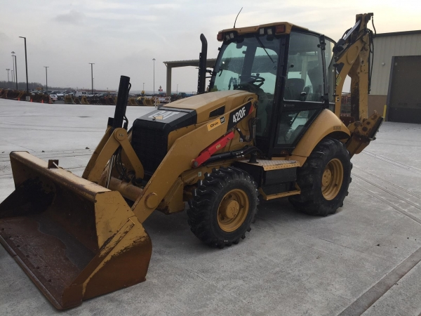 Caterpillar 420F - Caterpillar Loader Backhoes
