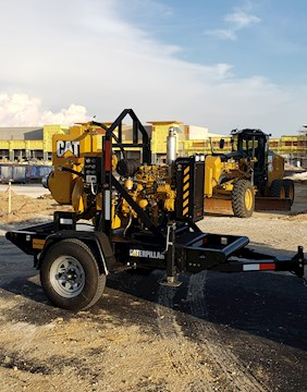 Caterpillar 6 In x 6 In Vaccum Assist - Caterpillar Pumps