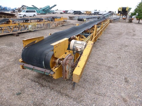 Custom Built 75 Ft Lattice Frame Conveyor (2437) - Custom Built Aggregate Equipment