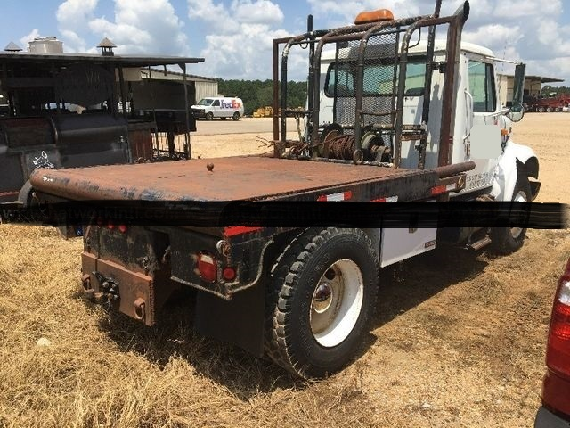 1996 International 4900 Flatbed Winch Truck - International Cab Chassis Trucks