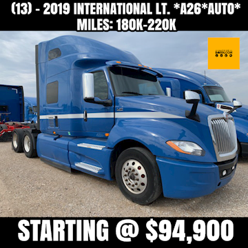 2019 International LT A26 Auto - International Freight Trucks