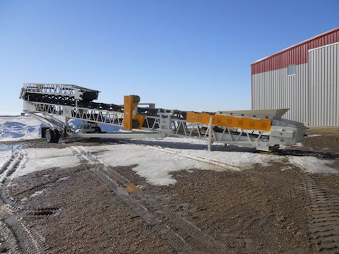 JP 36X100 RADIAL STACKING CONVEYOR - JP Aggregate Equipment