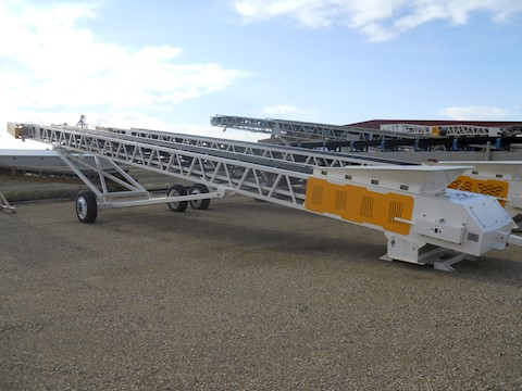 JP 36X100 HYDRAULIC RADIAL STACKING CONVEYOR - JP Aggregate Equipment