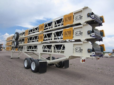 JP 42X60 SLIDE-OFF CONVEYORS - JP Aggregate Equipment