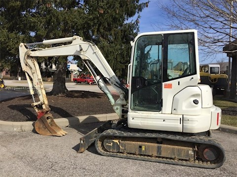2013 New Holland E55BX - New Holland Excavators