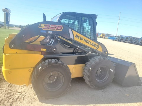 New Holland L328 - New Holland Skid Steers