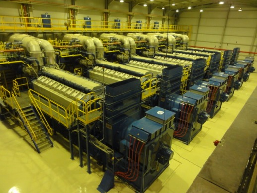 2011 Other Wartsila Natural Gas Generator Power Plant 60 MW - Other Generators