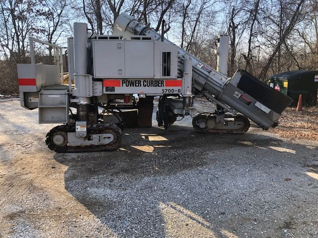 Power Curber 5700-B - Power Curber Asphalt & Conrete