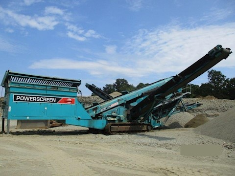 2012 Powerscreen Chieftain 2100X - Powerscreen Aggregate Equipment