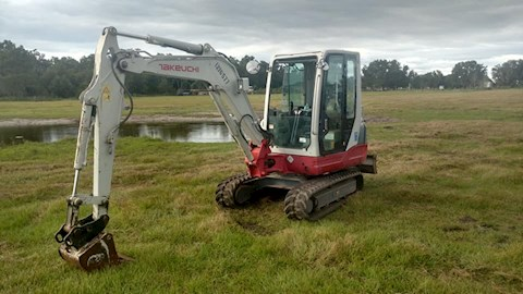 Takeuchi Excavators at Machinery Marketplace