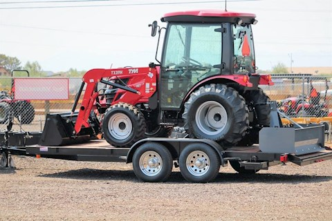 2020 TYM TRACTORS T39HCX-TL 40HP HYSTAT 4X4 TRACTOR LOADER + FREE TRAILER!