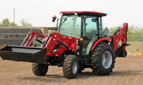2021 TYM T57HST TURBO Cab Tractor Loader Backhoe - TYM Tractors