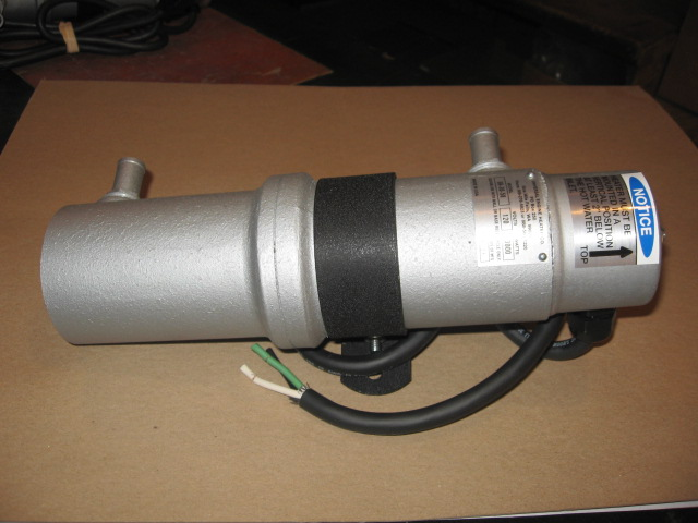 Universal UH-25-58  120 VOLT ENGINE HEATER  2500 WATTS - Universal Generators
