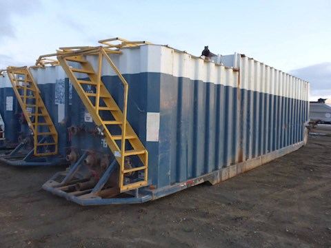 2005 VE ENTERPRISES 500 Barrel Frac Tank 2704 - VE ENTERPRISES Trailers