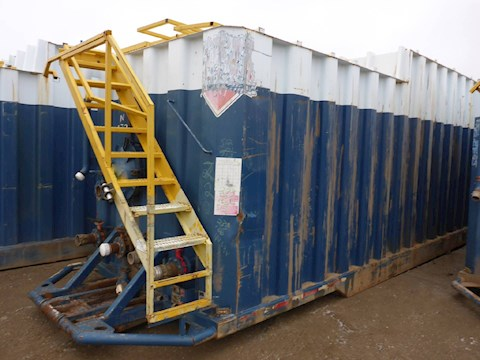 VE ENTERPRISES 500 Barrel Frac Tank 2705 - VE ENTERPRISES Trailers