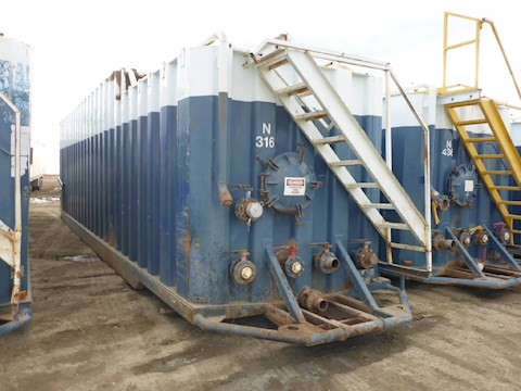 VE ENTERPRISES 500 Barrel Frac Tank 2708 - VE ENTERPRISES Trailers