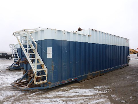 2002 VE ENTERPRISES 500 Barrel Frac Tank 2710 - VE ENTERPRISES Trailers