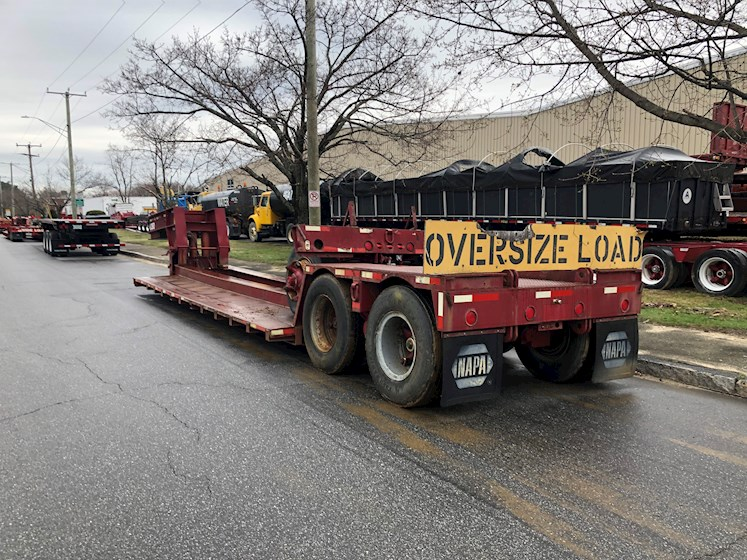 Other Rogers 50 Ton Dropside 2 Axle Trailer with 3rd Pin on Axle - Other Trailers