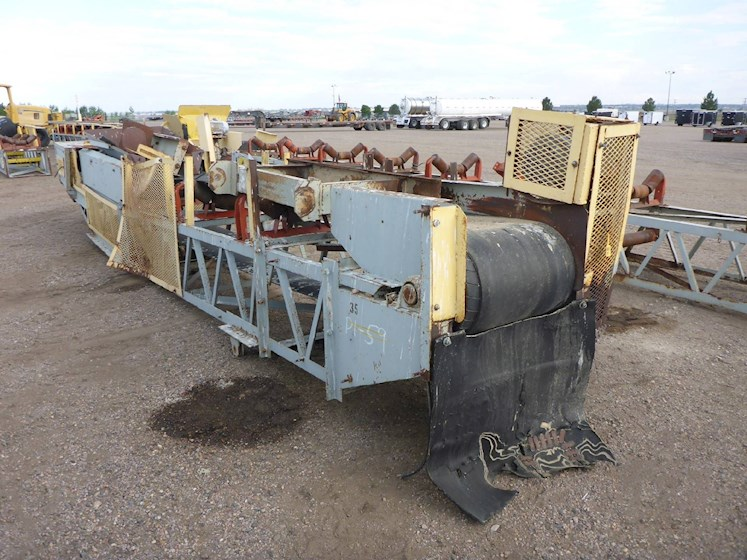 Peerless 22ft Conveyor Lattice Frame (2658) - Peerless Aggregate Equipment