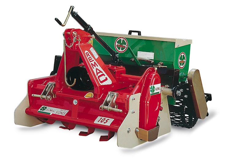 Remac Stone Burier IS 125F - Remac Disc, Tine & Tillage