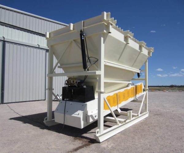 RLC Aggregate Equipment 14 YD SKID FEEDER WITH GRIZZLY - RLC Aggregate Equipment Aggregate Equipment