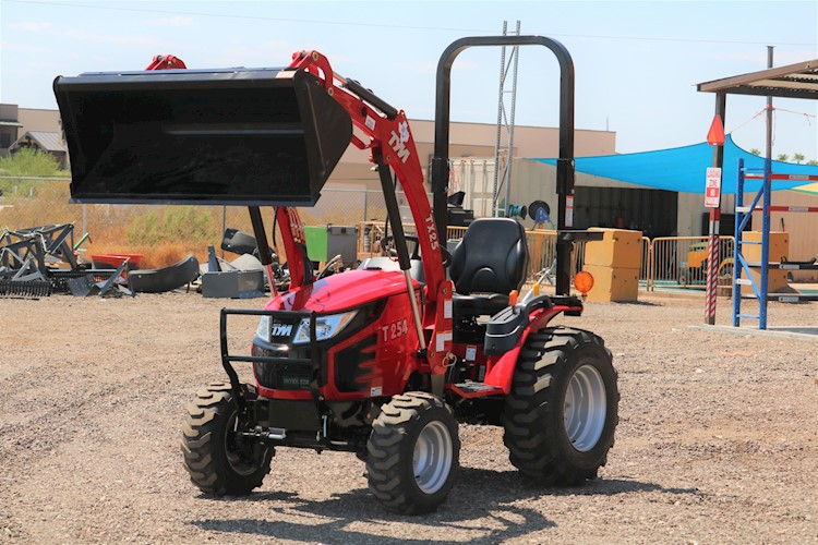 2021 TYM T254HST-TL 25HP 4x4 Hystat Diesel Tractor with Loader - TYM Tractors