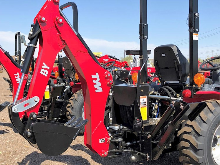 2021 TYM T254HST-TLB 25HP 4x4 Tractor Loader Backhoe - TYM Tractors