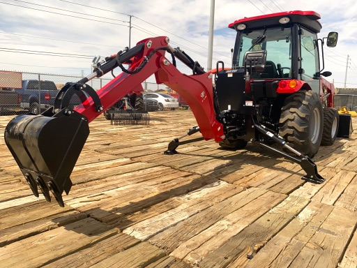 2021 TYM T39HSTC-TLB Cab Tractor Loader Backhoe 40HP 4x4 HYSTAT - TYM Tractors