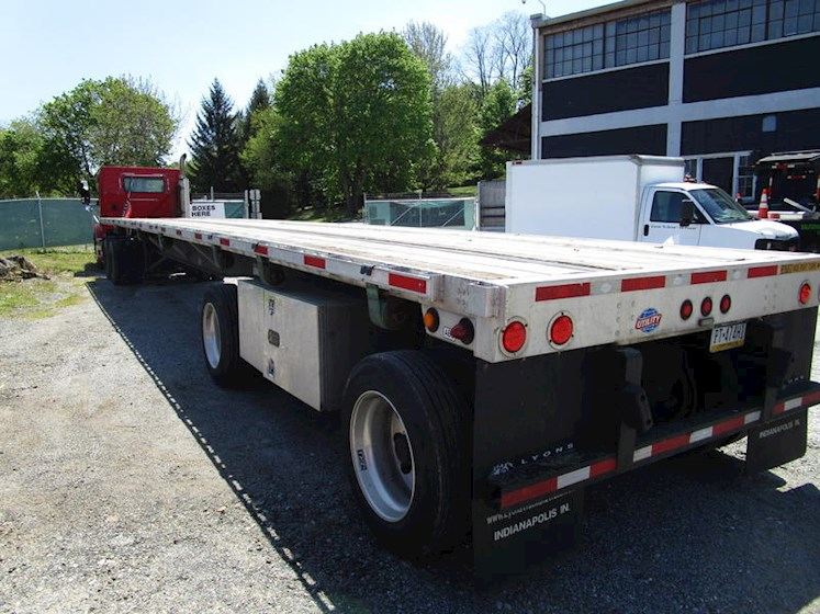 2013 Utility 48x102 Spread Axle Flatbed - Utility Trailers